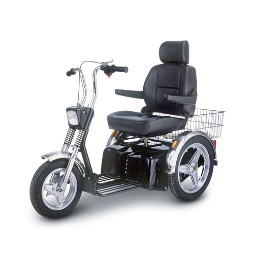 Afikim SE Scooter with optional Wide Seat
