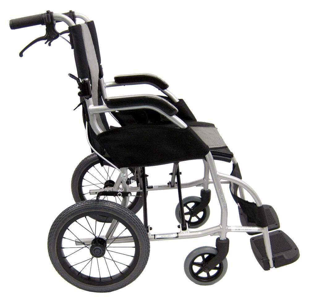 Ergo Lite Tp Ultralight Ergonomic Transport Wheelchair