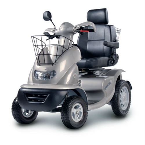 Afikim Breeze 4-Wheel Scooter w/ optional Wide Seat and Golf Wheels