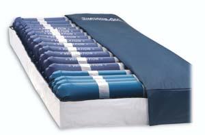 supreme air model alternating pressure mattress with low air loss