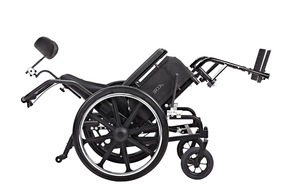 NEW! Broda Comfort Tilt Manual Wheelchair – Model 587