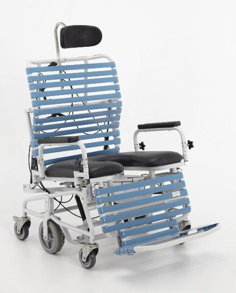 Broda Bariatric Transport Commode Shower Chair (Bari 385)