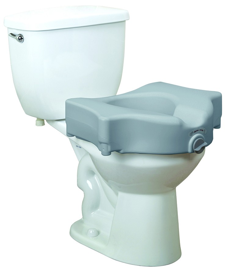 Drive Medical Bariatric 5 Quot Locking Raised Toilet Seat