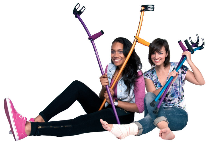 Forearm Color Crutches