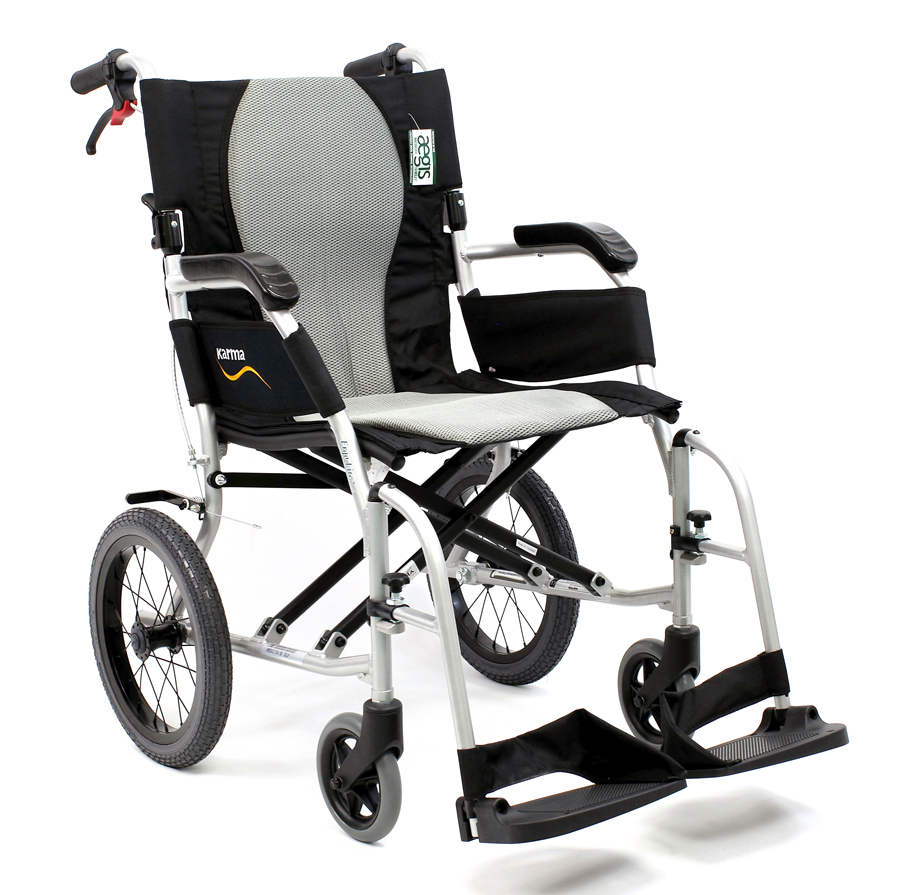 ERGO FLIGHT – Ultralight Weight Transport Wheelchair