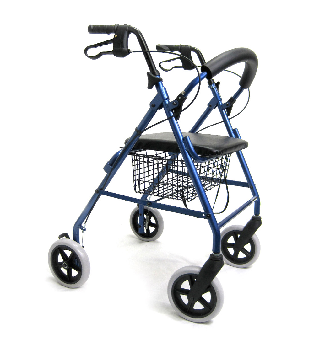 Karman R-4608 Lightweight Rollator with Large 8