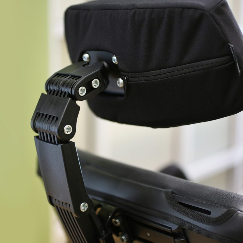 Permobile Permobil Headrest w/Link Hardware