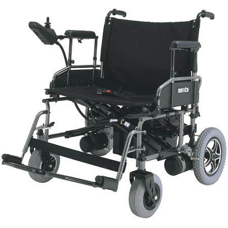 Merits Bariatric Heavy Duty Folding Power Wheelchair P183