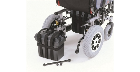 Merits Bariatric Heavy Duty Folding Power Wheelchair P183