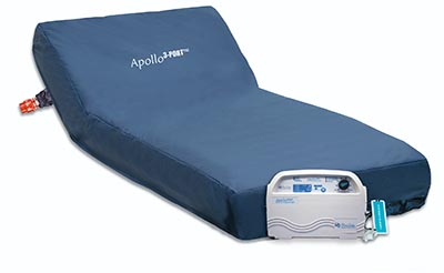 Apollo 3-Port™ Alternating Air Pressure Mattress System with Low Air Loss