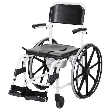 Merits Deluxe Mobile Commode/ Shower Chair