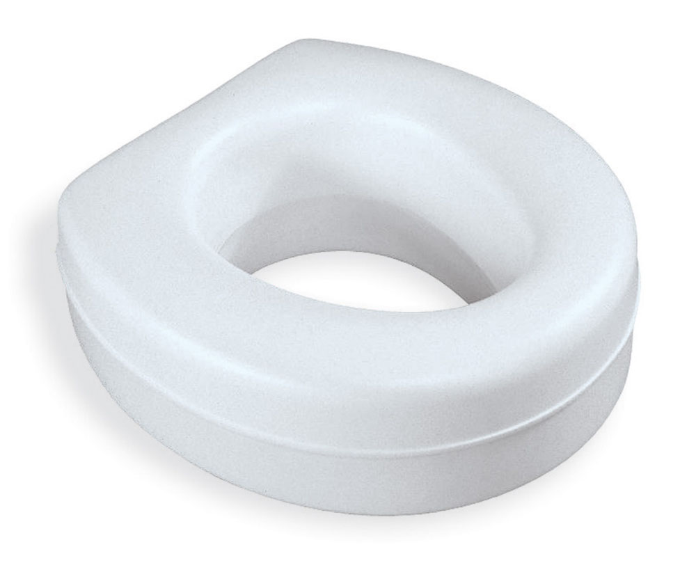 Contoured Raised Toilet Seat