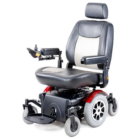 Merits Mid Wheel Drive Powerbase Wheelchair P330