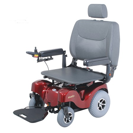 Merits Super Heavy Duty RWD Powerbase Wheelchair- Bariatric P720