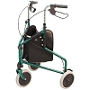 Merits 3-Wheeled Aluminum Rollator, Loop Brake