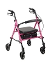 Drive Medical ACS Aluminum Rollator, 6