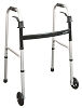 Drive Medical Airgo Aluminum Folding Walker with Paddle Release