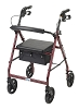 Drive Medical Aluminum Rollator II, 7.5