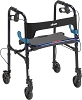 Drive Medical Clever-Lite Walker, Adult, with 5