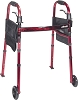Drive Medical Deluxe Folding Travel Walker with 5