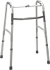 Drive Medical Deluxe Folding Walker, One-Button