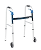 Drive Medical Deluxe, Trigger Release Folding Walker with 5
