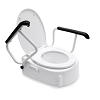 Handicare Toilet raiser with armrests