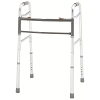 Merits Bariatric Aluminum Folding Walker, two button W140-2 Adult / W141-2 Adult