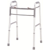 Merits Deluxe Aluminum Folding Walker, one button W120-4 Adult / W121-4 Junior