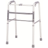Merits Deluxe Aluminum Folding Walker, one button  W130-4 Universal