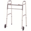 Merits Deluxe Aluminum Folding Walker, two button W124-4 Adult / W125-4 Junior