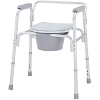 Merits Detachable Aluminium Commode