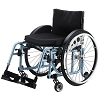 Merits Detachable Footrest Active Wheelchair Folding Frame L813