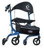 Airgo eXcursion6 X20 Lightweight Side-folding Rollator, 6