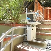 Handicare 2000 Outdoor Curved Stairlift