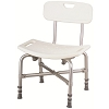 Merits Heavy Duty Bath Bench (with Back)