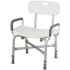 Merits Heavy Duty Bath Bench (with Back and Arms)