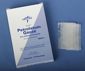 Petrolatum Impregnated Gauze, 3x9  (box of 12)