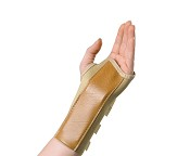 "Elastic Wrist Splint 7"" Left Medium"