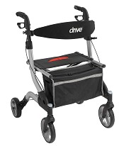 Drive Medical I-Walker Aluminum Rollator, 7