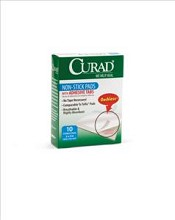 "CURAD Non-Stick Pads, 2""x 3"" (case of 12)"