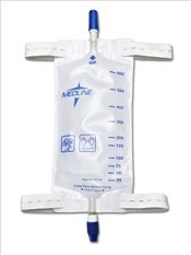 Leg Bags W/ Comfort Strap and Twist Valve Drainage Port