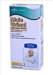 Male Urinal, Retail Packaging (case of 6)