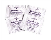 Wash-Up Towelettes, Case of 1000