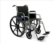 Excel K1 Standard Basic Wheelchair 16""