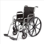 Excel K3 Wheelchair w/ Desk Length Arms (black)