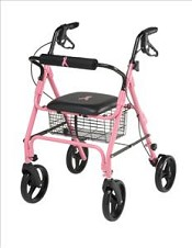 Guardian Breast Cancer Awareness Rollator