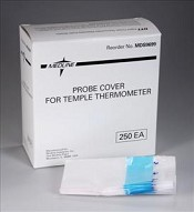 Temple Thermometer Covers (for MDS9698) (Box of 250)