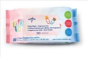Fragrance Free Baby Wipes, 80/pk (case of 24 pk)