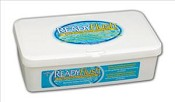 "ReadyFlush Scented Wipes, 9""x13""  60/tub (case of 9 tubs)"